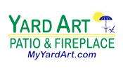 Yard Art Patio & Fireplace